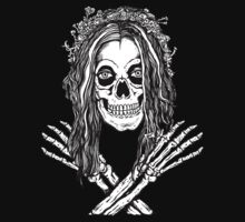 Skull Bride Jolly Roger by ZugArt