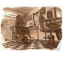 Bernard's Barbers (In Tea and Coffee) Poster