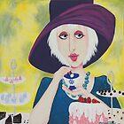 Lady Lunchalot by miriamjones