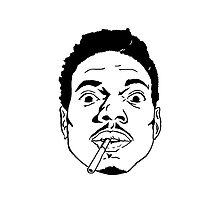 Chance The Rapper Face by coolGEORGE