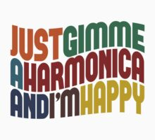 Gimme A Harmonica by Wordy Type