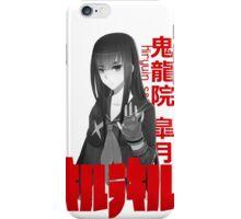 Kill la Kill Shirt : Kiryuin Satsuki  iPhone Case/Skin