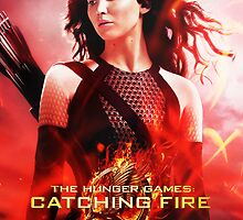 Katniss Everdeen Catching Fire by forbiddenforest