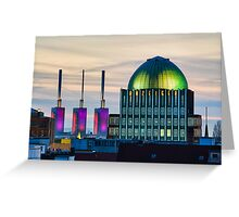 Skyline of Hannover, Germany Greeting Card