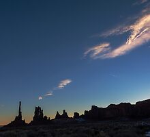 Monument Valley Dawn by Mike Herdering