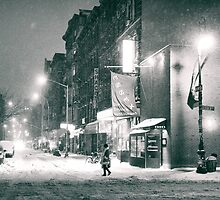 Winter on the Lower East Side - New York City by Vivienne Gucwa