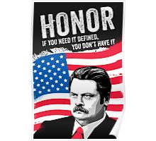 RON SWANSON Quote#5 Poster
