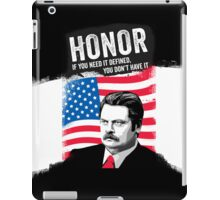 RON SWANSON Quote#5 iPad Case/Skin