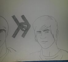smosh drawing  by gwennbby