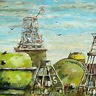 BUOYS, on dockside. by ejameson