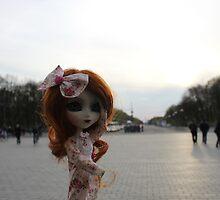 Malinka in Berlin by QueenOfWater