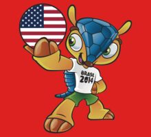 World cup mascot love USA by miky90