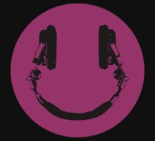 "Smiley DJ ""color"" by DesignDesign"