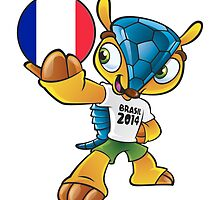 World cup mascot love france by miky90