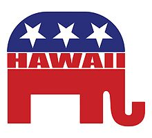 Hawaii Republican Elephant by Republican