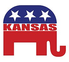 Kansas Republican Elephant by Republican