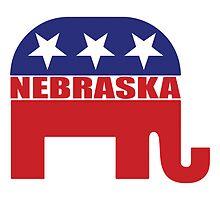 Nebraska Republican Elephant by Republican