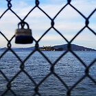 Lock With Alcatraz Prison by Erik Anderson