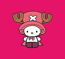 Hello Kitty - Chopper (One Piece) by jebez-kali