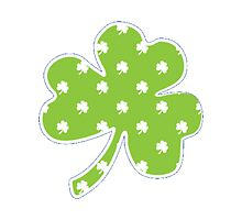 St. Patrick's Day Lucky Shamrock by sarahms1998