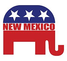New Mexico Republican Elephant by Republican