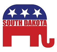 South Dakota Republican Elephant by Republican