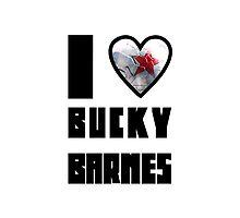 I Heart Bucky Barnes by landry89