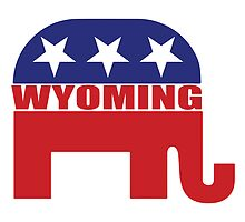 Wyoming Republican Elephant by Republican