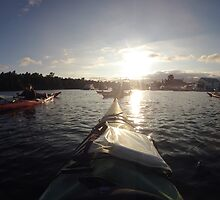 Sea Kayaking In Georgian Bay by jayme128