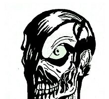 Misfits Skull Artwork by Jason westwood
