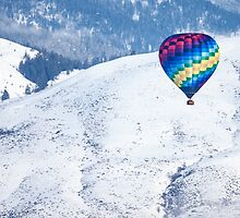 Floating over the Methow Valley by Jim Stiles