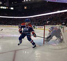 Edmonton Oilers vs. Minnesota Wild - Rexall Place by Doug Cargill