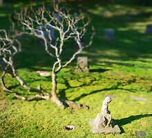 Mini Cemetery 7 - Beetlejuice - Tilt Shift by Scott Heffernan