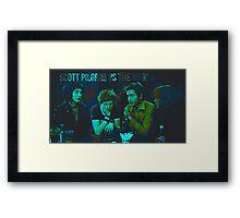 Scott Pilgrim vs the World Framed Print