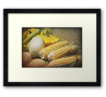 Fine Country Produce Framed Print