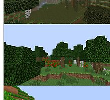 Minecraft Landscapes by qwertyness
