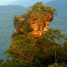 Orphan Rock in the Blue Mountains by Michael Matthews