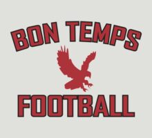 Bon Temps football by penguinua