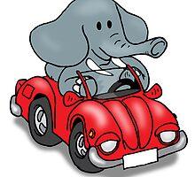 Elephant VW by berkup