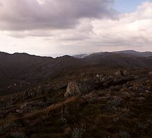 kosciuszko - Summit View 02 by Timothy Kenyon