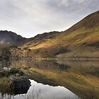 Rising sun,Buttermere by Peter Skillen