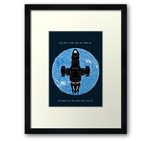 No Power in the Verse - Alternate Edition Framed Print