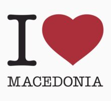 I ♥ MACEDONIA by eyesblau
