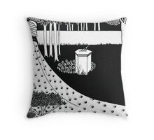 La Beale Isoud at Joyous Gard Throw Pillow