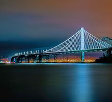 San Francisco-Oakland Bay Bridge Eastern Span by Jerome Obille