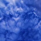 Blue Cloudy Sky Phone Case by jamesmachin
