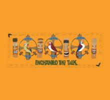 Enchanted Tiki Talk Shirt Full Logo T-Shirt