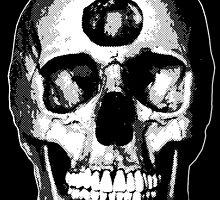 Third Eye Bones (Black and White Edition) by RadRecorder