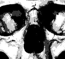 Third Eye Bones (Black and White Edition) Sticker