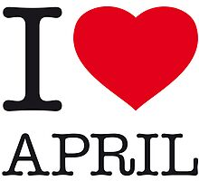 I ♥ APRIL by eyesblau